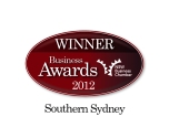 Winner NSW Business Chamber Awards