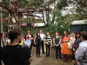 Reverse Garbage meets with TAFE NSW Visual Merchandising students