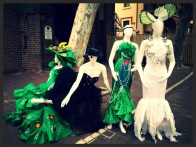 Paddington Markets: RG Creative were commissioned to provide reuse dresses and fashion accessories.