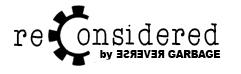 ReConsidered Logo