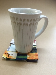 Whip up some coasters for your next tea party